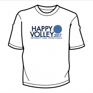 White Happy Volley 2017
