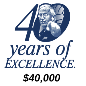 40 Years of Excellence ($40,000)